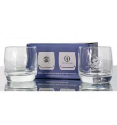 Loch Lomond branded glasses- The British Open (x2)