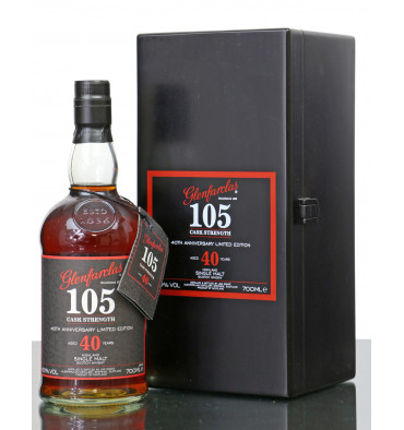 Glenfarclas 40 Years Old - 105 Cask Strength 40th Anniversary