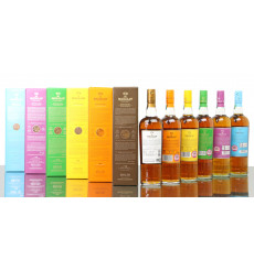 Macallan Edition No.1, 2, 3, 4, 5 & 6 (6x70cl)