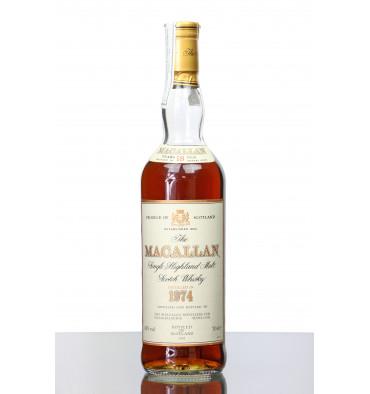 Macallan 18 Years Old 1974 - 1993 Sogrape Dist.
