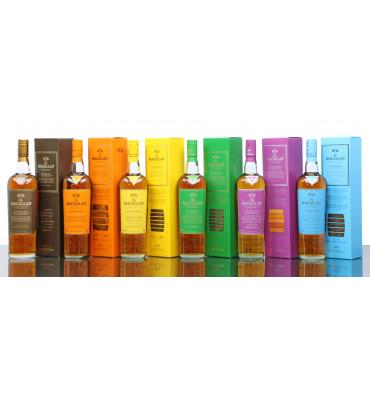 Macallan Edition No.1, 2, 3, 4, 5 & 6 (6x70cl)