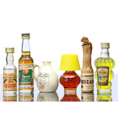 Assorted Miniatures (Non-Whisky) x 6