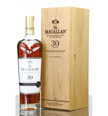 Macallan 30 Years Old  Sherry Oak - 2020 Release
