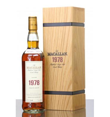 Macallan 39 Years Old 1978 - Fine & Rare
