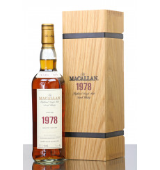 Macallan 39 Years Old 1978 - Fine & Rare
