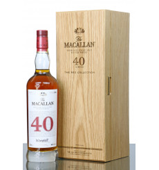 Macallan 40 Years Old - The Red Collection