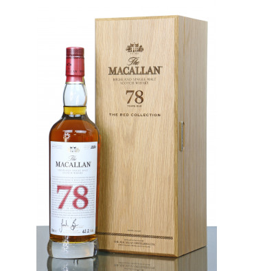 Macallan 78 Years Old - The Red Collection
