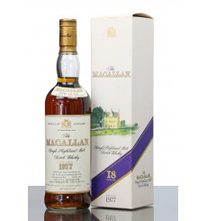 Macallan 18 Years Old 1977 -  Remy Amerique Import (75cl)