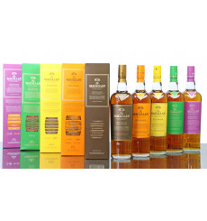 Macallan Edition No.1, 2, 3, 4 & 5 (5x70cl)