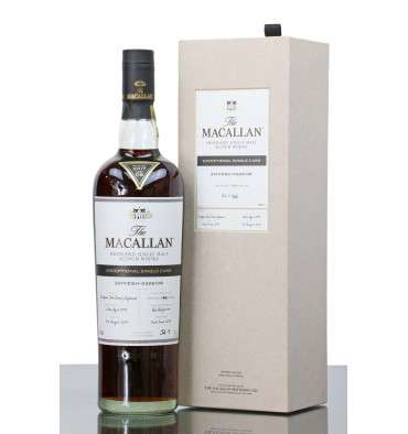 Macallan 1995 - 2017 Exceptional Single Cask No.5326/06
