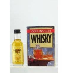Cameron Brig Pure Single Grain Miniature & Collin's Whisky Book