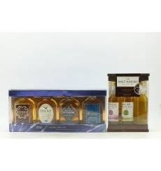 Miniature Whisky Sets x 2