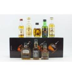 Assorted Miniatures x 8 Incl Jack Daniels Box Set