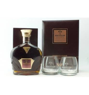 Macallan Chairman's Release - 1700 Series with 2 Tumblers