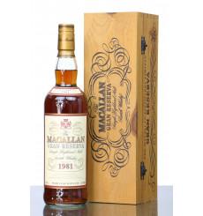 Macallan 18 Years Old  1981 - Gran Reserva
