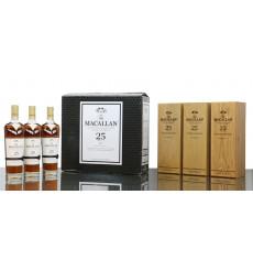 Macallan 25 Years Old Sherry Oak - 2020 Release Full Case (3x 70cl)