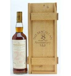 Macallan Over 25 Years Old 1971 - Anniversary Malt
