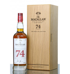 Macallan 74 Years Old - The Red Collection