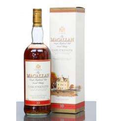 Macallan 10 Years Old - Cask Strength (1 Litre)