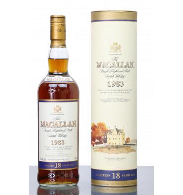 Macallan 18 Years Old 1983 (750ml)
