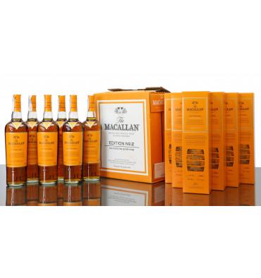 Macallan Edition No.2 - Full Case (6x 70cl)