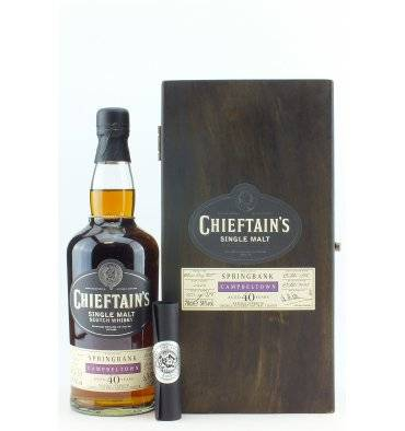 Springbank 40 Years Old 1968 - Chieftain's