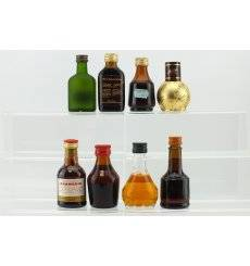Assorted Liqueur Miniatures x 8