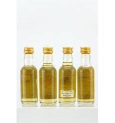 Whisky Connoisseur Highland Games Miniatures x 4
