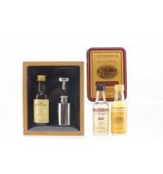 Glenlivet & Glenmorangie Miniature Sets