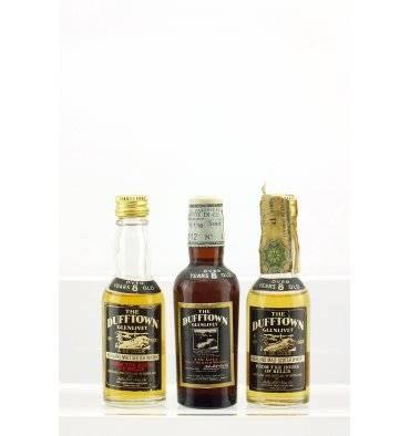 Dufftown-Glenlivet 8 Years Old - Miniatures x 3