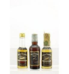 Dufftown-Glenlivet 8 Years Old - Miniatures x 3
