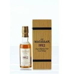 Macallan 49 Years Old 1952 - Fine & Rare Miniature