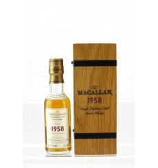 Macallan 43 Years Old 1958 - Fine & Rare Miniature