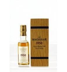 Macallan 52 Years Old 1950 - Fine & Rare Miniature