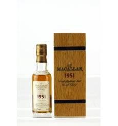Macallan 51 Years Old 1951 - Fine & Rare Miniature