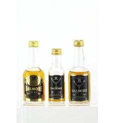 Dalmore Miniatures x 3