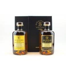 Dunglass 37 Years Old 1967 & Littlemill 36 Years Old 1967 - Signatory Vintage Rare Reserve