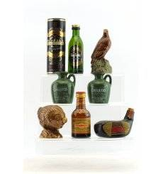 Assorted Miniatures x 7