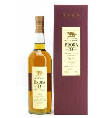 Brora 35 Years Old - 2012 Limited Edition