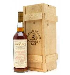 Macallan Over 25 Years Old 1970 - Anniversary Malt