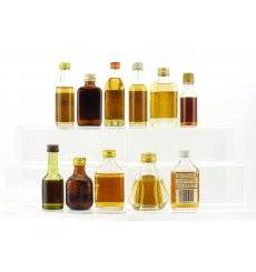 Assorted miniatures x 11 - Incl Balvenie Founder's Reserve