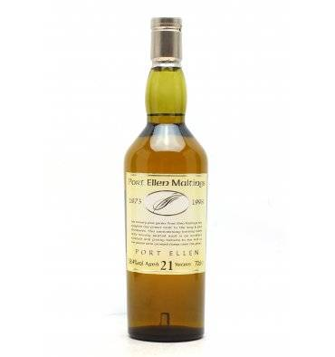 Port Ellen Maltings 21 Years Old - 25th Anniversary