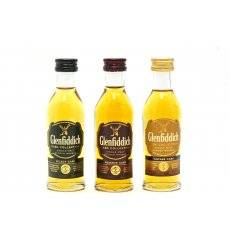 Glenfiddich Cask Collection Miniature Set