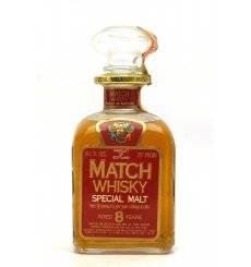 Match Whisky 8 Years Old Decanter