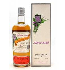 Port Ellen 21 Years Old 1980 - Silver Seal First Bottling