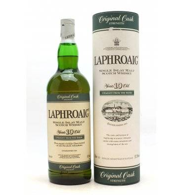 Laphroaig 10 Years Old - Original Cask Strength (1 Litre)