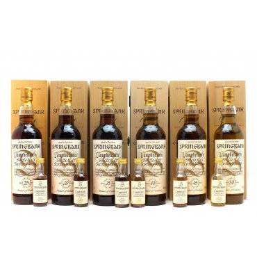 Springbank Millennium Collection with Miniatures