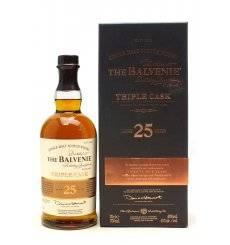 Balvenie 25 Years Old - Triple Cask
