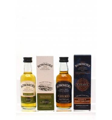 Bowmore Small Batch & Black Rock - Miniatures