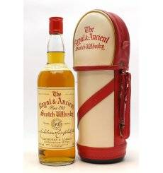 Royal & Ancient Scotch Whisky in Golf Bag